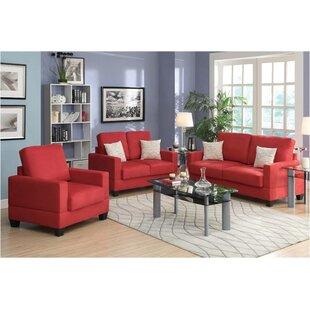 Riney 4 Piece Living Room Set by Latitude Run®
