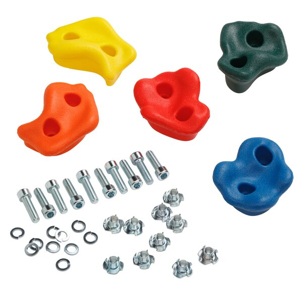 Rocks Climber with Hardware (Set of 5) by Blue Rabbit Play