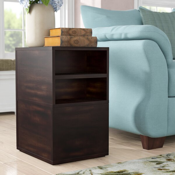 Garbo End Table With Storage by Bernhardt