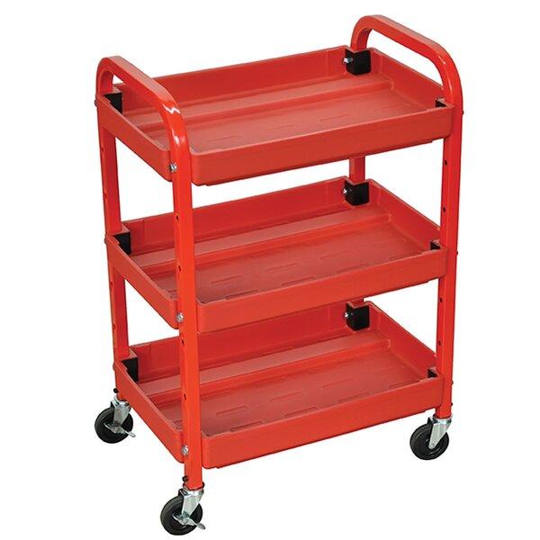 3 Shelf Utility Cart by Offex
