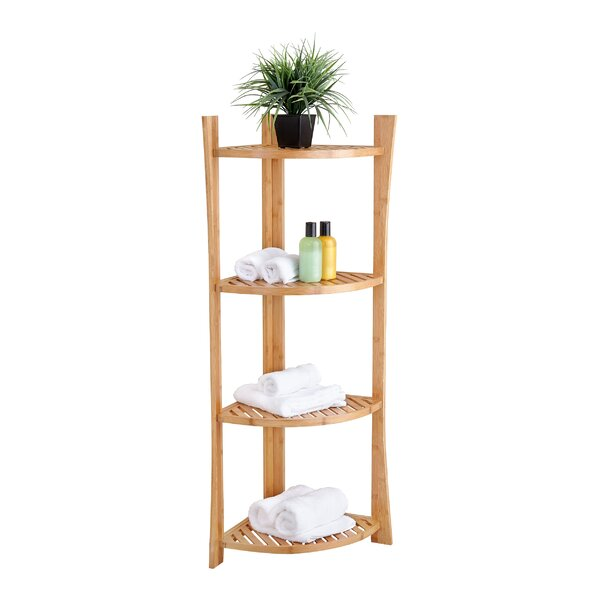 15 W x 45 H Bathroom Shelf by Fox Hill Trading