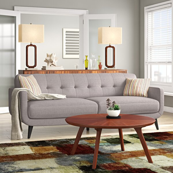 Dashing Collection Tifton Mid-Century Sofa by Ivy Bronx by Ivy Bronx