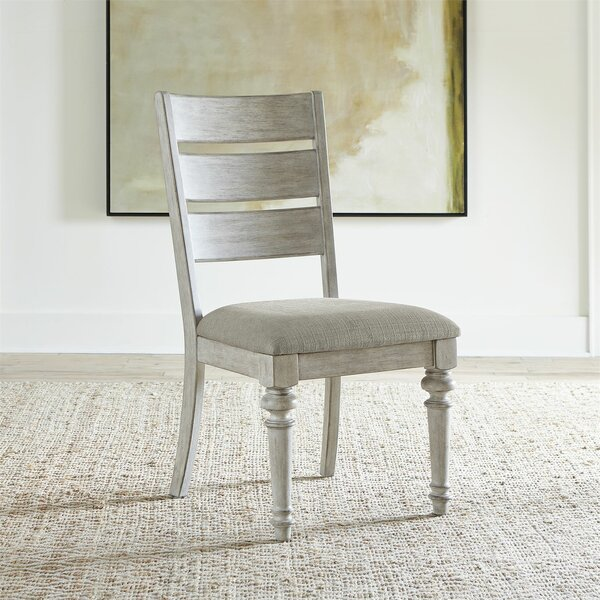 Lula Upholstered Dining Chair (Set of 2) by One Allium Way