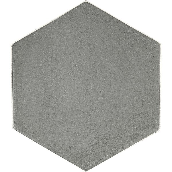 Urban Hexagon 5.4 x 5.4 Field Tile in Gray by Madrid Ceramics