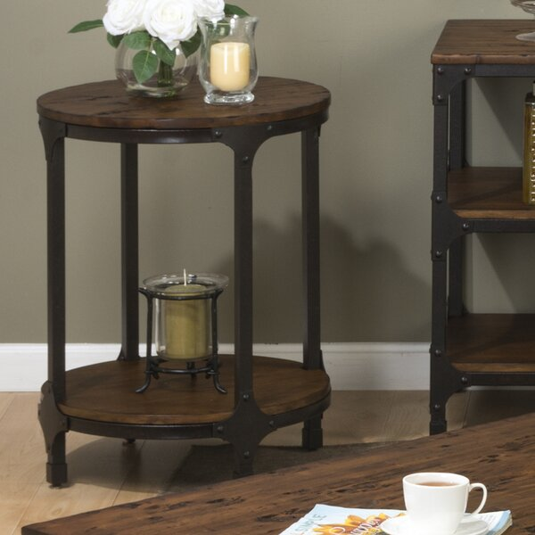 Carolyn Round End Table by Laurel Foundry Modern Farmhouse