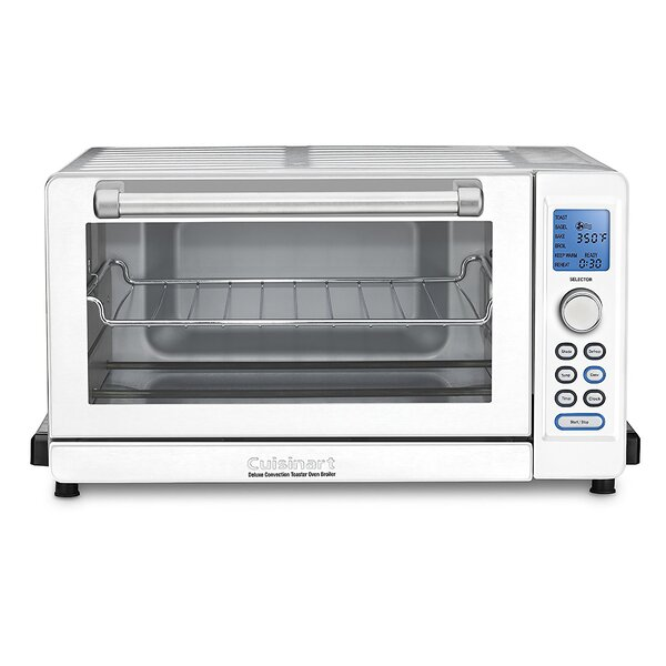 6 Slice Deluxe Convection Toaster Oven by Cuisinar