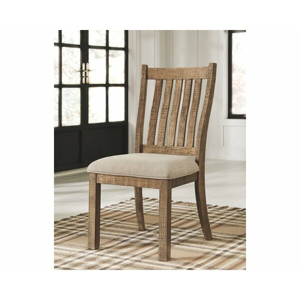 Jessamine Upholstered Dining Chair (Set of 2) by Gracie Oaks