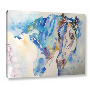 Horse 8 Painting Print on Wrapped Canvas by Latitude Run