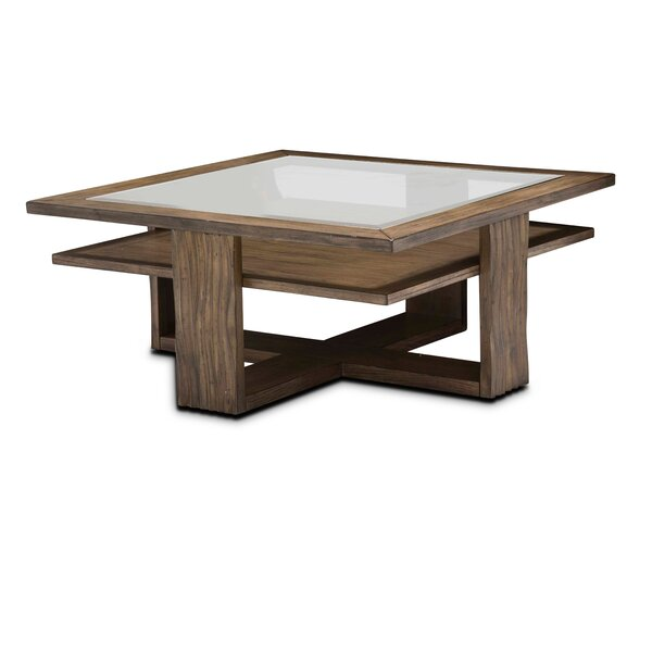 Millwood Pines Glass Top Coffee Tables