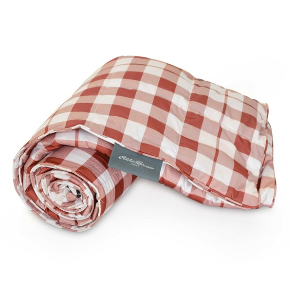 Buffalo Check Packable Throw By Eddie Bauer.