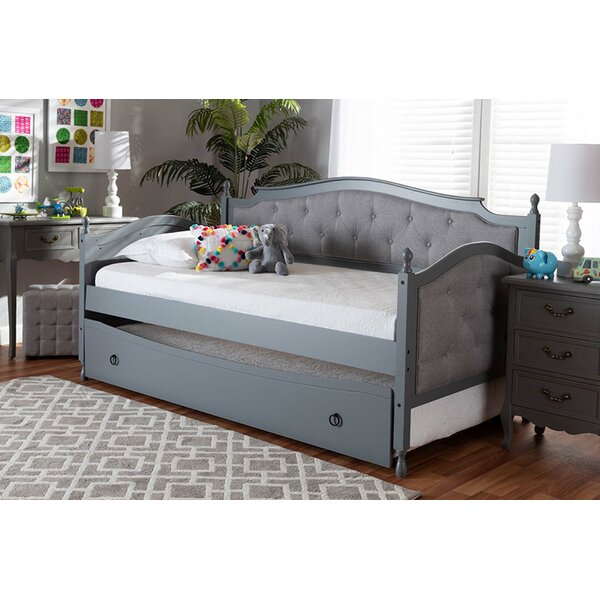 Lugenia Twin Daybed with Trundle by Canora Grey Canora Grey