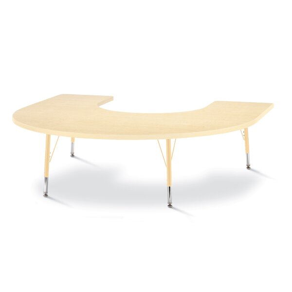 Berries 66 x 60 Horseshoe Activity Table by Jonti-Craft