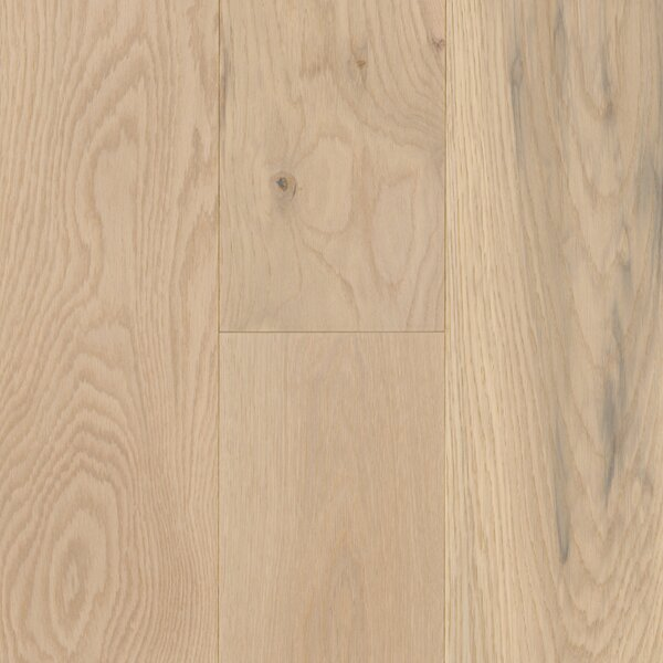 Coastal Allure 7 Engineered Oak Hardwood Flooring in Beachwood White by Mohawk Flooring