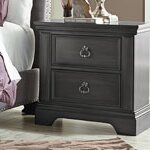 Derrell 2 Drawer Nightstand by World Menagerie