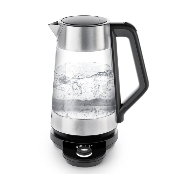 Adjustable Temperature Glass Cordless Kettle by OXO