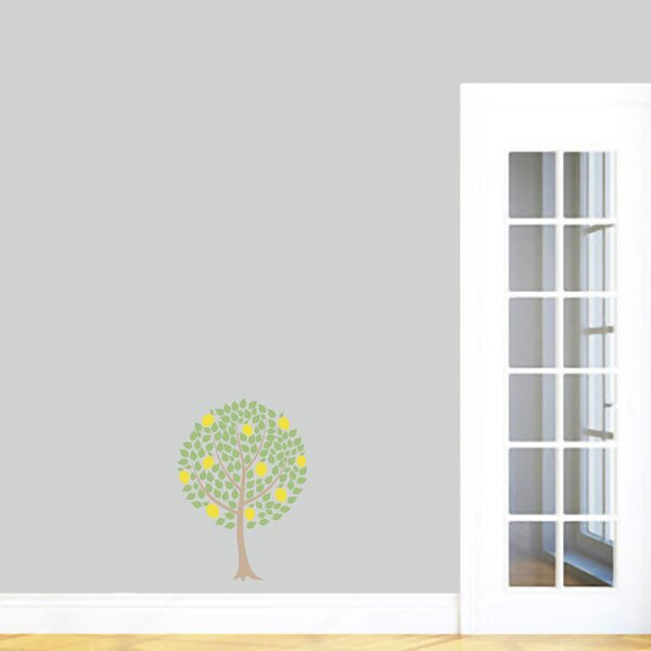 Lemon Tree Printed Wall Decal by Sweetums Wall Decals