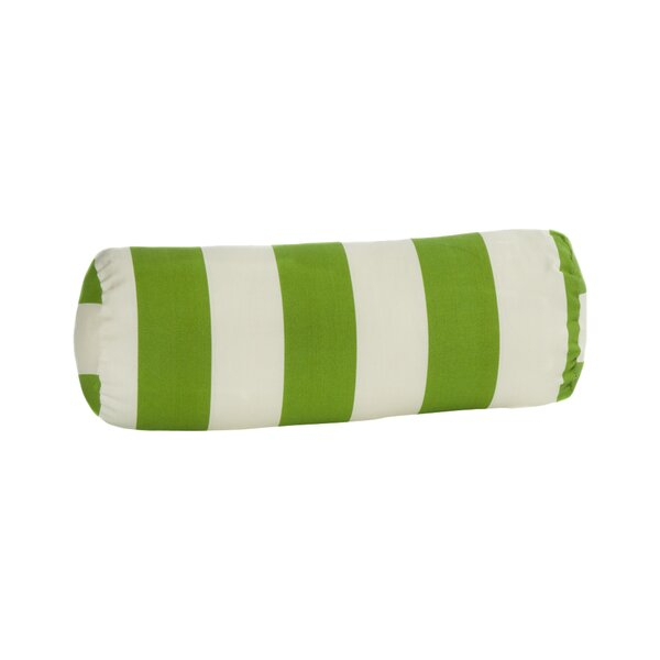 Merrill Outdoor Bolster Pillow by Beachcrest Home