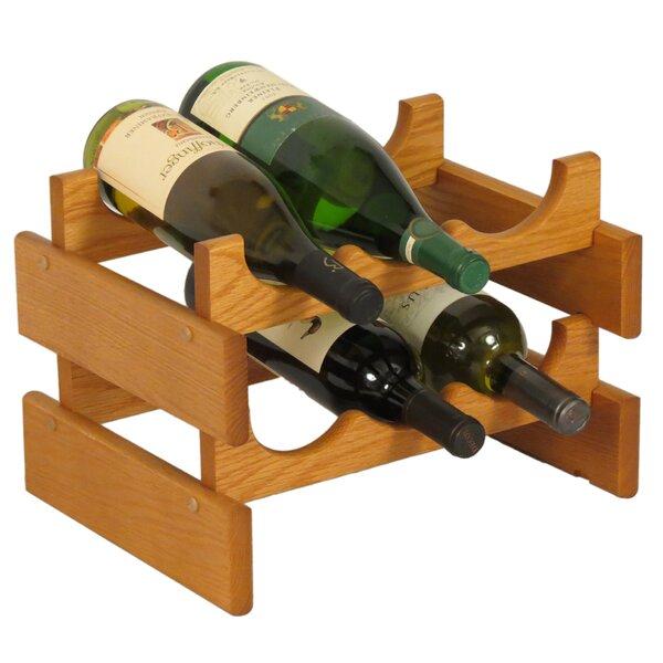 Dakota 6 Bottle Tabletop Wine Rack by Wooden Mallet
