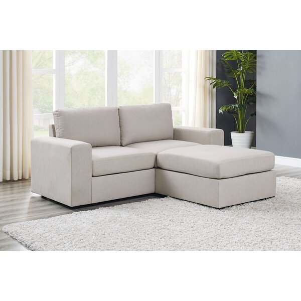Excellent Brands Reversible Modular Sectional by Ebern Designs by Ebern Designs