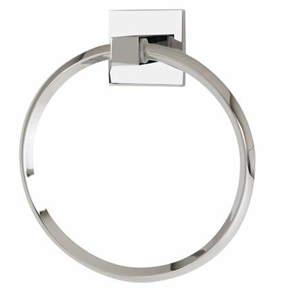 Contemporary II Wall Mounted Towel Ring by Alno Inc