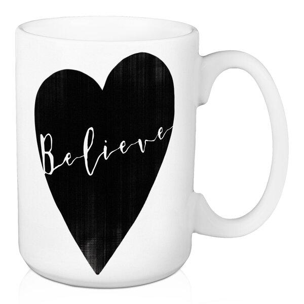 Blanco Believe Coffee Mug by Ebern Designs