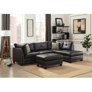 Draco Sectional with Ottoman Alcott Hill