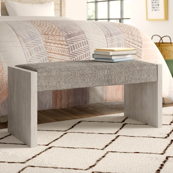 Carnes Upholstered Bench by Trule Teen