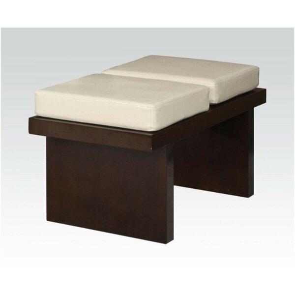 Hadiya Upholstery Bench by World Menagerie