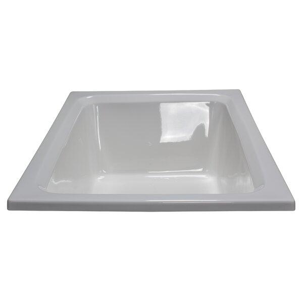 60 x 42 Soaker Rectangular Bathtub by American Acrylic