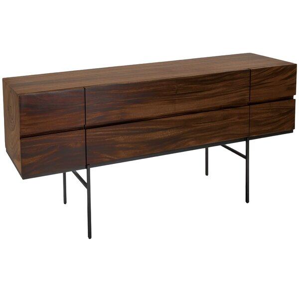 Finn Solid Wood Writing Desk by Corrigan Studio
