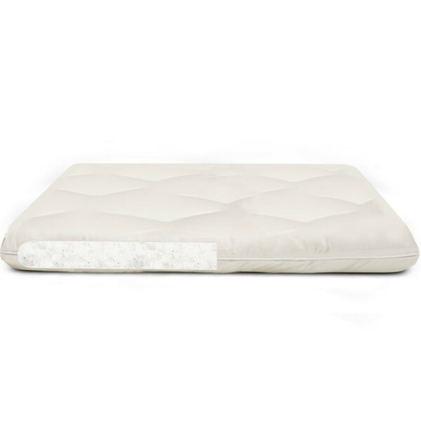 Beatrice Organic 3 Cotton Mattress Topper by Alwyn Home