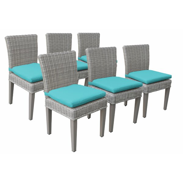 Sau Patio Dining Chair with Cushion (Set of 6) by Breakwater Bay