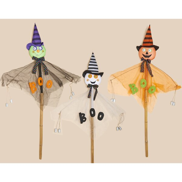 3 Piece Halloween Figure Set by Worth Imports