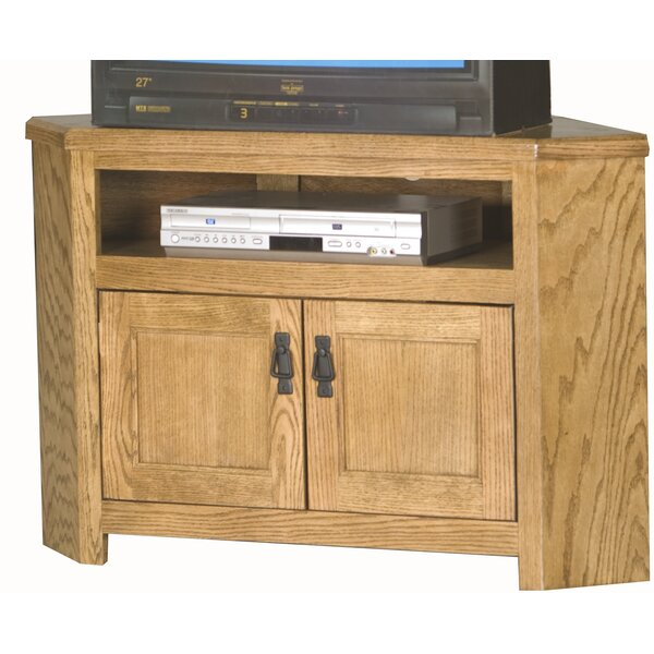 Anson Solid Wood TV Stand For TVs Up To 50