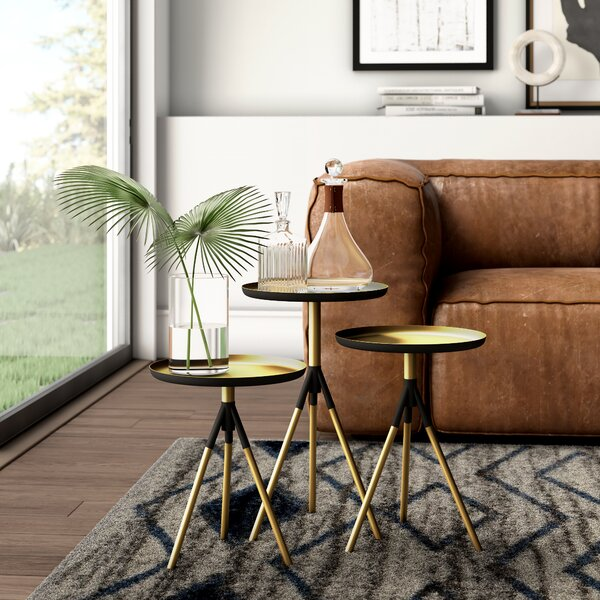 Fasching 3 Piece Nesting Tables by Mercury Row