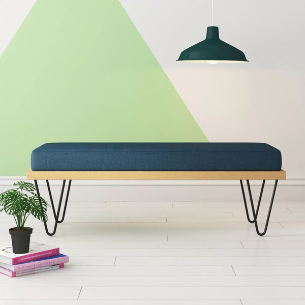 Atlas Upholstered Bench by Hashtag Home
