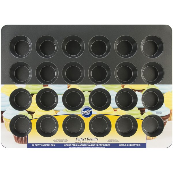 Non-Stick 24 Cup Perfect Mega Muffin Tin by Wilton