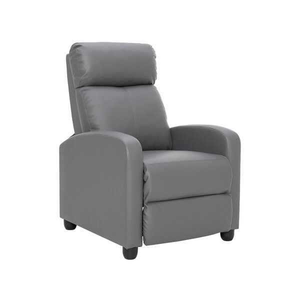 Ethel Single Recliner Home Theater Individual Seating By Ebern Designs