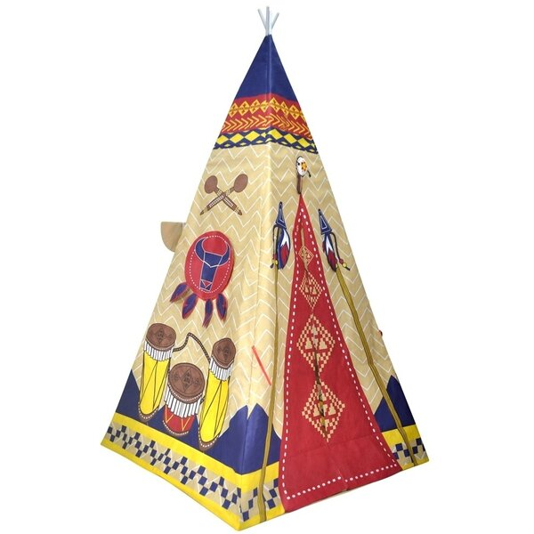 Giant Indian Pop-Up Play Teepee by Checkey Limited