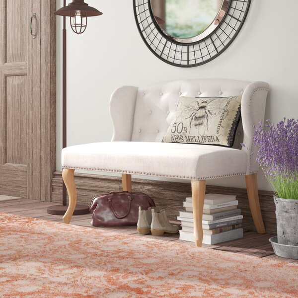 Epone Upholstered Bench by August Grove