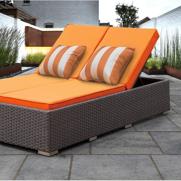 Lulsgate Double Chaise Lounge with Cushion