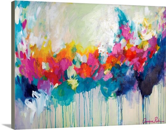 Wishful Thinking By Amira Rahim Painting Print By Great Big Canvas.
