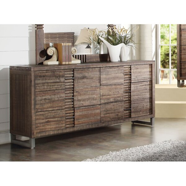 Womac 6 Drawer Double Dresser by Union Rustic
