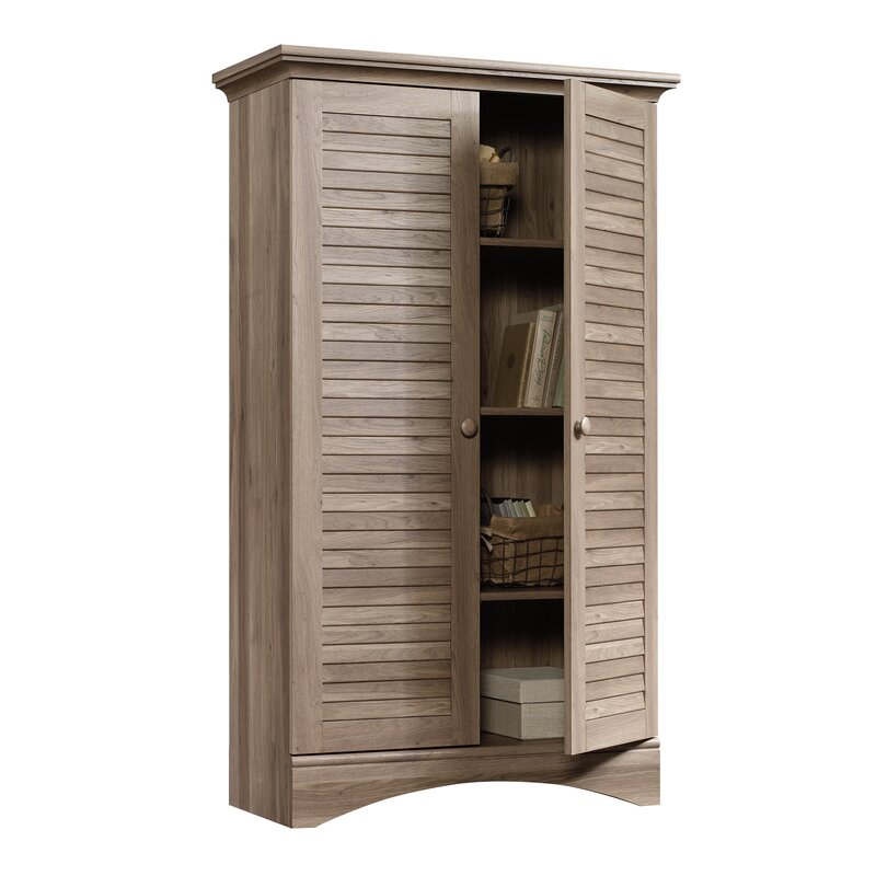 Pinellas 2 Door Accent Cabinet - Come discover 50 Photos of Inspiring White Rooms With Rustic Vintage Charm!