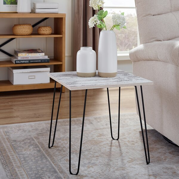 Hansen End Table by Union Rustic Union Rustic