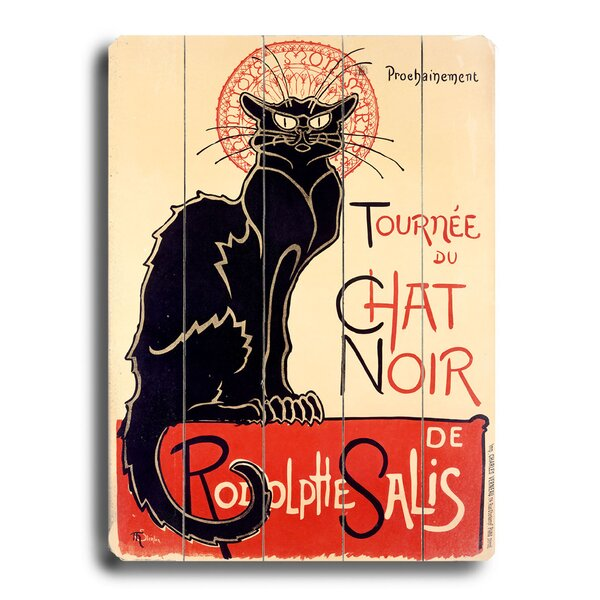 Tournee Du Chat Noir Vintage Advertisement by Red Barrel Studio