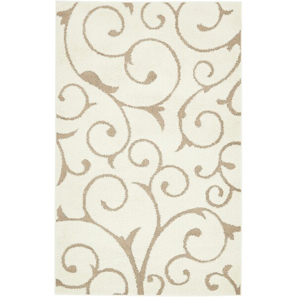 Sorrento Ivory Area Rug by Charlton Home
