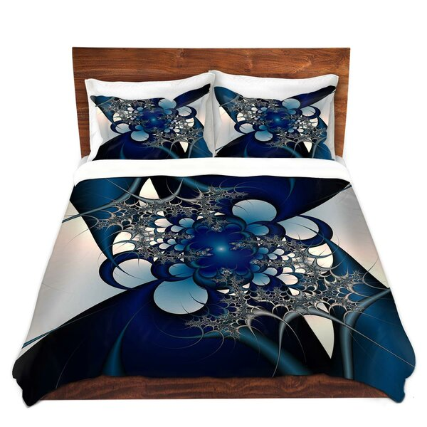 Sky and Moon Duvet Set by East Urban Home