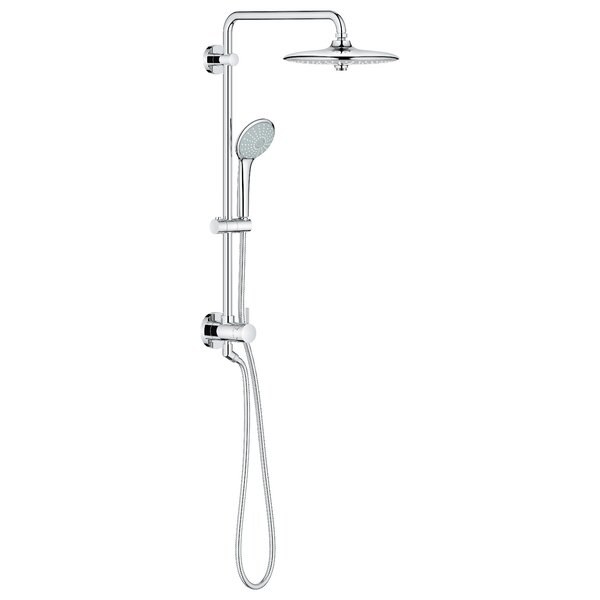 Euphoria Retro-Fit Pressure Balanced Diverter Dual Complete Shower System with SpeedClean Technology by Grohe