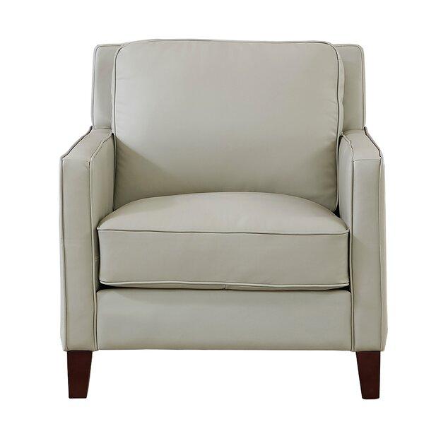 Home Décor Dieman 100% Leather Armchair